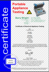 Elegant I Have Portable Appliance Testing And Public Liability Insurance  Certificates. I Can Also Supply CRB On Request.